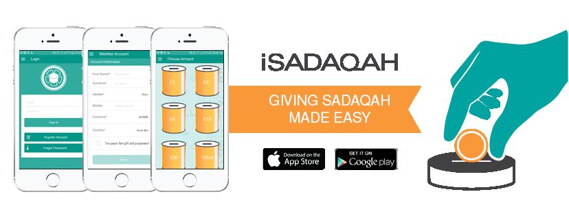 iSadaqah app
