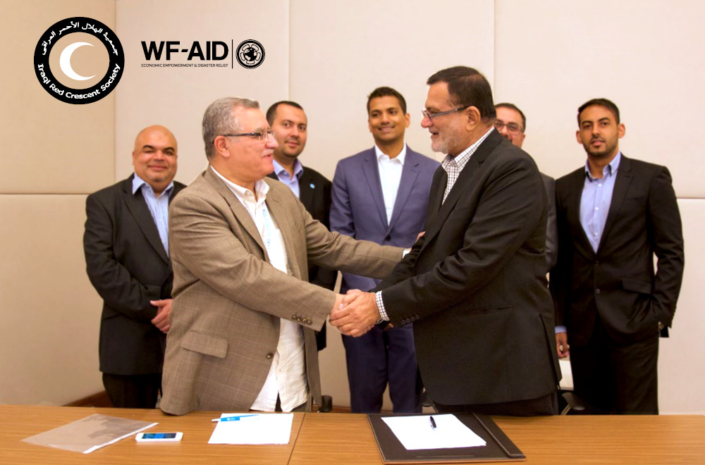 IraqiRedCrescent and WFAid