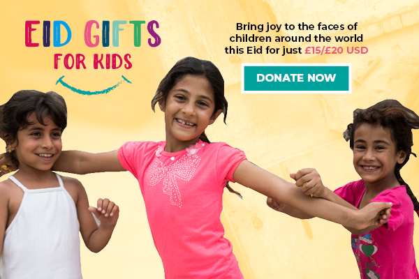 Donate an Eid gift now