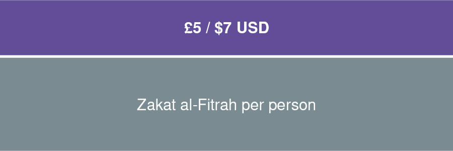 Pay your Fitrah